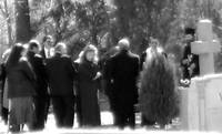 Orthodox funeral from a distance