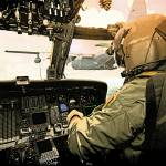 """HelicopterRefuelFresco48x36"" by Columellaarts"