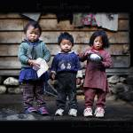 """Three Nepali kids in the Khumbu Valley"" by ExposedPlanet"