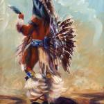 """""Feather Dancer"""" by PatDeVaneBurns"