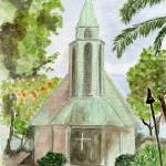 """Kona Church"" by BrushMarQ"