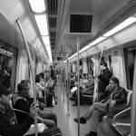 """Subway loneliness"" by iratxe"