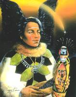Crow Mother Hopi Kachina