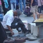 """Street Performer in Boston"" by highstreetgallery"