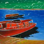 """RedBoat"" by KreasikuBatik"