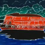 """ManRedBoat"" by KreasikuBatik"