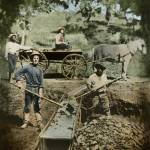 """Gold Miners 1849"" by worldwidearchive"