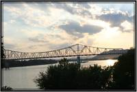 Ohio River sunset
