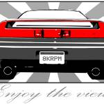 """NSX ""Enjoy the view."""" by blodisign"