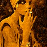 """Woman Smoking"" by JoelKelly"