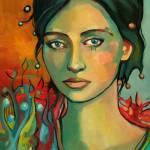 """Bright Eyed Woman"" by keely"
