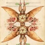 """Tibetan Bat Flower"" by 14"