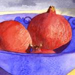 """Three pomegranates"" by art4fish"