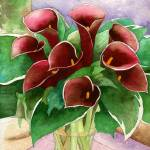 """Red Callas"" by art4fish"