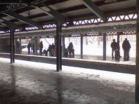 Brooklyn Subway - Winter