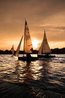 Sailing Boats; Holme Pierrepont