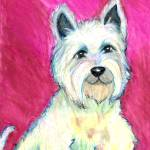 """West Highland Terrier"" by VanAntwerpArt"