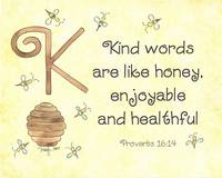 Letter K - Proverbs 16:14