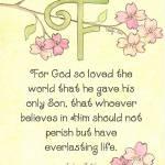 """""""Letter F - John 3:16"""" by tglover"""