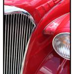 """Classic Car Red 07.14.07_649"" by paulhasara"