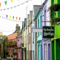 Colors of Caernarfon.jpg Art Prints & Posters by Michelle Palmer