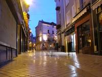 Amboise at night