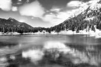 Lily Lake in BW