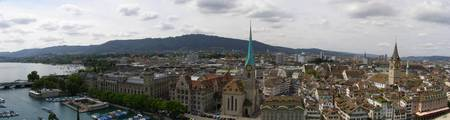 Panorama of Zürich
