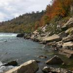 """Niagara river Canadian shoreline"" by evoken"