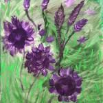 """""""Violet Hill"""" by Tonyvincentart"""