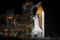 Discovery Space Shuttle - Night Viewing