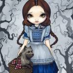 """Dorothy and Toto - Wizard of Oz"" by strangeling"