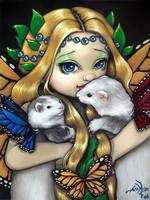 Two Fae Ferrets Fairy