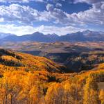 """Panoramic - San Miguel Mountains Colorado"" by FallingSilver"
