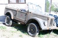 Military Jeep in Sun