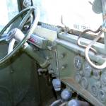 """Military Jeep Interior"" by holdstillphotos"