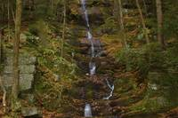 Waterfalls in fall