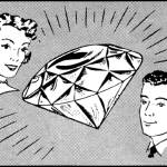 """Big Diamond, 1959 ad"" by arcaniumantiques"