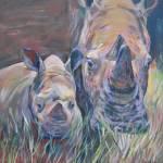 """""""Rhino Mama"""" by AnnOsgood"""