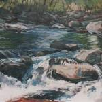 """""""Shady Creek"""" by AnnOsgood"""
