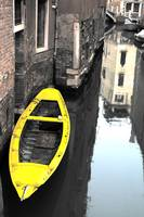 Yellow Boat, Venice
