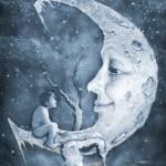 """Boy and Moon"" by JamesCarroll"