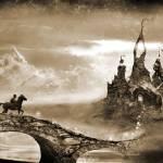"""Boy and castle"" by JamesCarroll"
