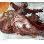 """The creation of the heavens_Michaelangelo"" by bharat"