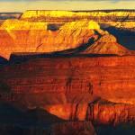 """grand canyon sunrise - the fridge magnet shot"" by rosemania"