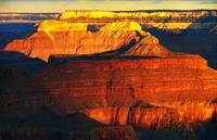 grand canyon sunrise - the fridge magnet shot