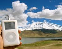 iPod karakorum
