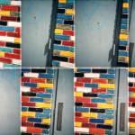 """Colored Brick Wall"" by jbhalper"