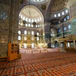 """Interior of Yeni Cami (New Mosque), Istanbul"" by canbalci"
