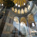 """Beam of light at Hagia Sophia"" by canbalci"